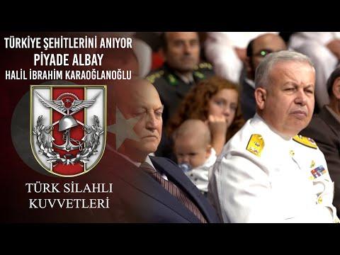 Türkiye Şehitlerini Anıyor - Piyade Albay Halil İbrahim KARAOĞLANOĞLU