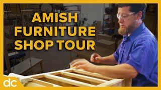 Inside an Amish Furniture Woodworking Shop: Tour Millcraft (2018)