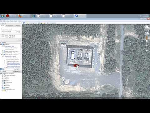 "here is the screenshot satellite picture proof: one of the biggest ""frac well drilling"" / injection well operations I have seen: http://sincedutch.wordpress...."