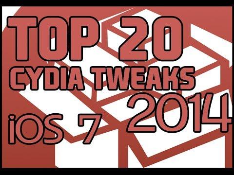 TOP 20 CYDIA LOS MEJORES TWEAKS FOR iOS 7 [2014] HD