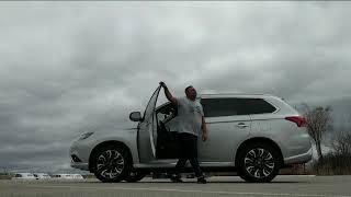 Dancing Mitsubishi Outlander PHEV