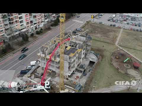 Video Mobilní čerpadlo betonu K47H