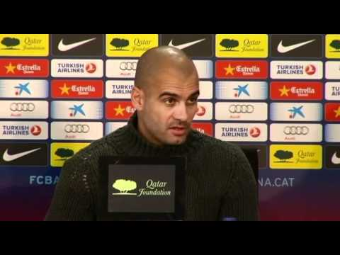 Pep Guardiola on being named Best Club Coach, Espanyol and Real Madrid