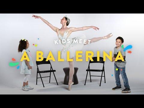 Kids Meet a Ballerina   Kids Meet   HiHo Kids