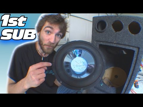CHEAP Subwoofer Find w/ EXO's 1st Car Audio Sub...12 inch Jensen XS1212 Subwoofers & Q-Logic Box