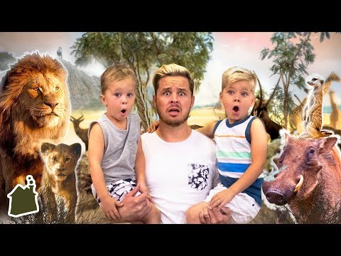 MEETING LION KING ANIMALS IN REAL LIFE! (Road Trip Day 4!)