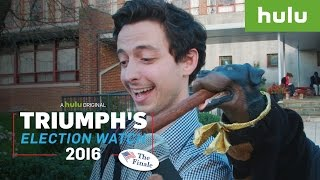 "Triumph Tricks Poll ""Watchers"" with Ingenious Disguises • Triumph on Hulu"