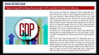 Ban tin tai chinh tuan 1 thang 7