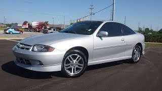 2003 Chevrolet Cavalier LS Sport Coupe Start Up and Full Tour