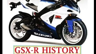 HISTORY of the SUZUKI GSXR 750   '1985 to 2015'