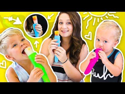 SUMMER PUSH POPS! 🍉 KID FRIENDLY DIY!