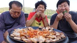 삼겹살에 김치에 볶음밥 까지(Samgyeopsal, Kimchi)~~ 요리&먹방!! - Mukbang eating show