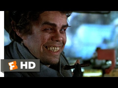 Scrooged (5/10) Movie CLIP - Taxi Ride From Hell (1988) HD