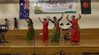 Chol Chol Chol and Dhono Dhanne at Pohela Boishakh 2015, Melbourne, Australia