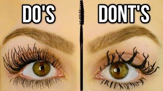 Mascara Mistakes To Avoid! Do