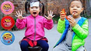 Trò Chơi Người Anh Tốt Bụng Và Viên Kẹo Hubba Bubba - Bé Nhím TV - Đồ Chơi Trẻ Em Thiếu Nhi