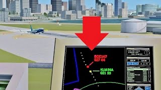 LOSING PLANES as ATC in Flight Simulator X (Multiplayer)