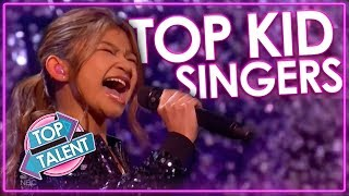 Powerful kid singing performances on Got talent and Idol | Top Talent