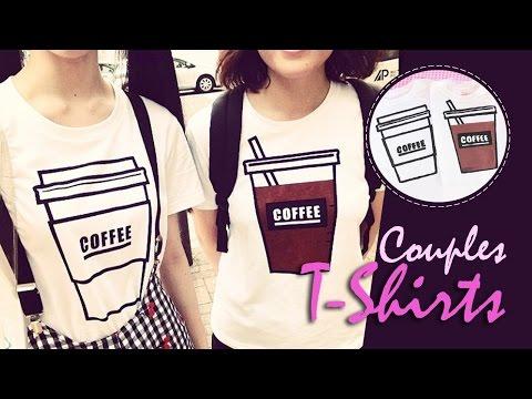 DIY: Camisas de Pareja | Couples T-Shirts