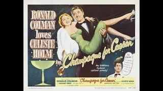 Комедия  Шампанское для Цезаря (1950)  Ronald Colman Celeste Holm Vincent Price