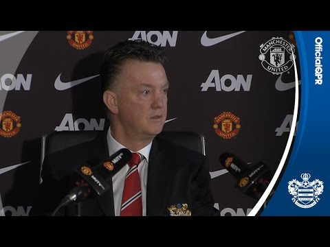 LOUIS VAN GAAL PRESS CONFERENCE | QPR v MANCHESTER UNITED