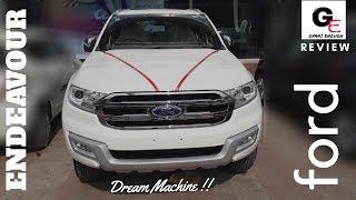 ford endeavour 3.2 2017 automatic | actual showroom look/in depth review/interiors & exteriors