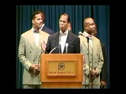 The Valley of Decision - Why the US Gov. Hates Libya, Iran, Iraq and Cuba - Min Farrakhan
