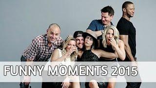 Arrow cast // funny moments [ 2015]