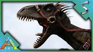 IT PRETENDS TO BE ASLEEP! INDORAPTOR TAMING! - Ark: Jurassic Park [E44]