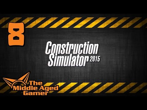 Construction Simulator 2015 - Part 8 - Crane Truck + Duplex House - Live Stream