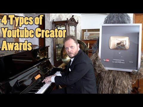 4 Types of Youtube Creator Awards and Play Buttons Vídeos de zueiras e brincadeiras: zuera, video clips, brincadeiras, pegadinhas, lançamentos, vídeos, sustos