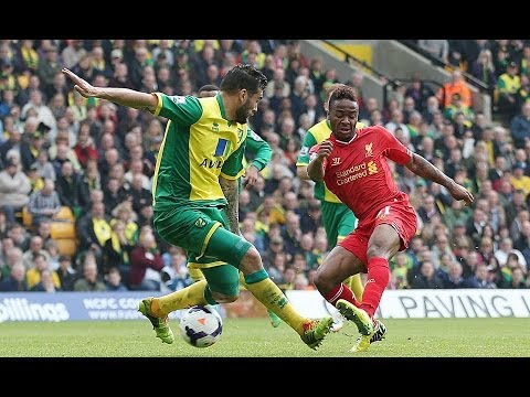 NORWICH CITY 2-3 LIVERPOOL