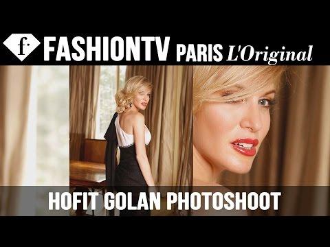 Hofit Golan Photoshoot By Igor Fain - Making Of | Fashiontv video