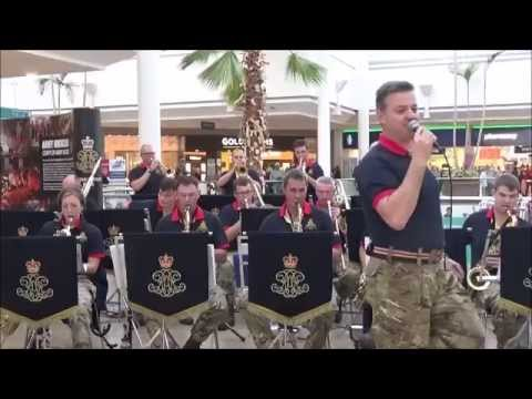 The Royal Artillery Big Band, Bristol Poppy Day 2015;