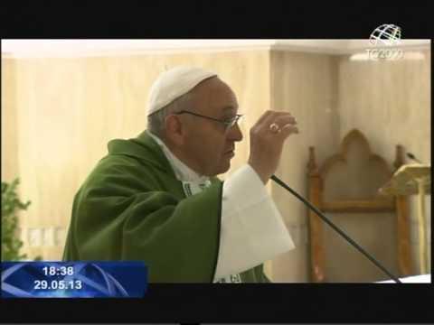L'omelia di Papa Francesco nella Messa a Santa Marta. Servizio di Cesare Cavoni