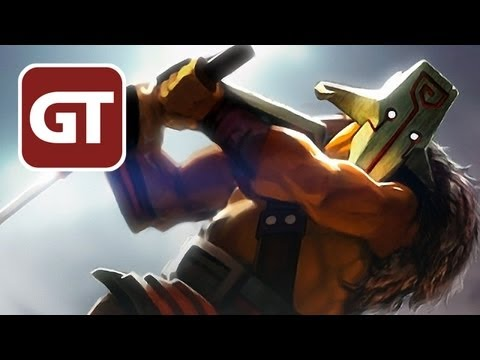 Dota 2 Gameplay - Juggernaut / Yurnero mit Michi und Martin