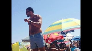 badr hari watching football in morocco