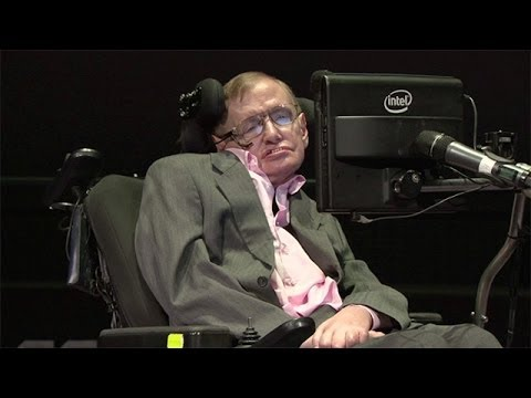 Stephen Hawking on black holes - Professor Stephen Hawkins