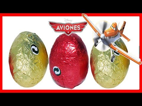 3 HUEVOS CAJA DE AVIONES DISNEY DE CHOCOLATE SORPRESA 2013. . PLANES CHOCO EGG SURPRISE COLLECTION