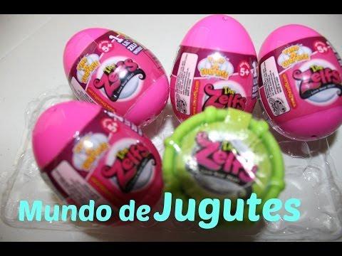 5 Huevos Sorpresa The Zelfs  THE ZELFS Surprise Eggs  Mundo de Juguetes