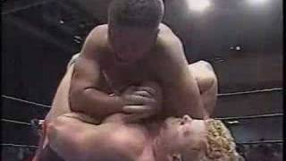 WWE Superstar Kane (aka Glen Jacobs) Fights in Japan