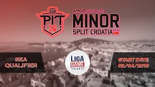 [DOTA 2] Royal Never Give Up VS Gambit (BO3) -  AMD OGA Dota Pit Minor