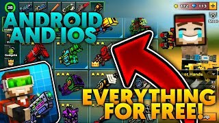Pixel Gun 3D   *Android+iOS* Modded/Maxed Account Giveaway!!! [All Weapons, Pets, Royale] [15.3.2]