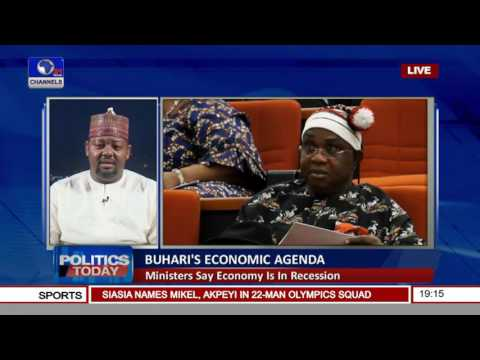Politics Today: Buhari's Economic Agenda As Economy Plunges Into Recession Prt.1