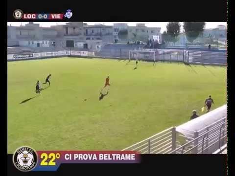 CAMPIONATO ECCELLENZA - SESTA GIORNATA ANDATA: SUDEST LOCOROTONDO - ATLETICO VIESTE 0-2