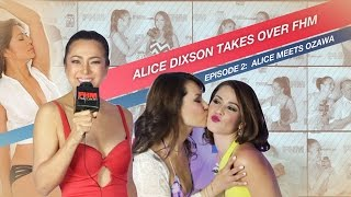Alice Dixson Meets (And Interviews) Maria Ozawa For The First Time!