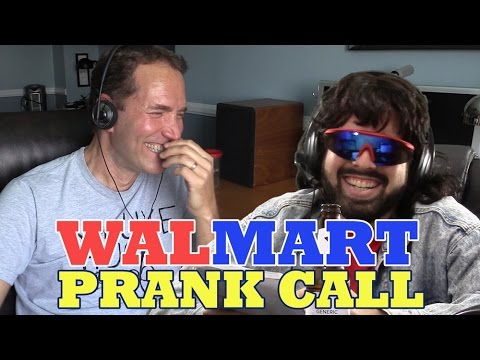 WALMART EMPLOYEE FIGHT Prank Call