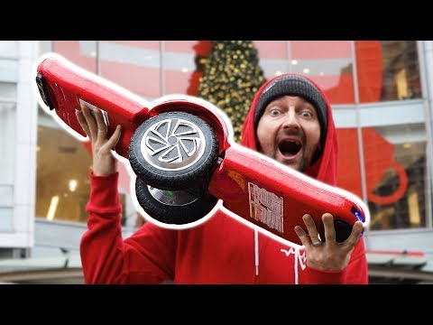 THE HOVERBOARD OF THE FUTURE! | CRUISING THE SF STREETS