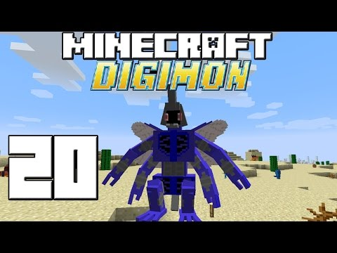 Minecraft Serie DIGIMON! Capitulo 20!