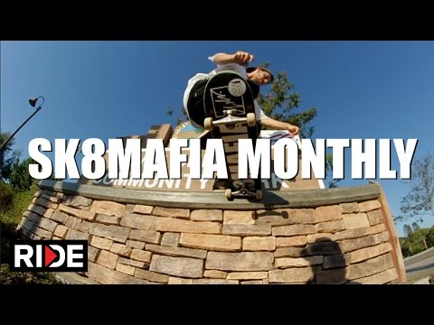 SK8MAFIA Monthly AUGUST 2015
